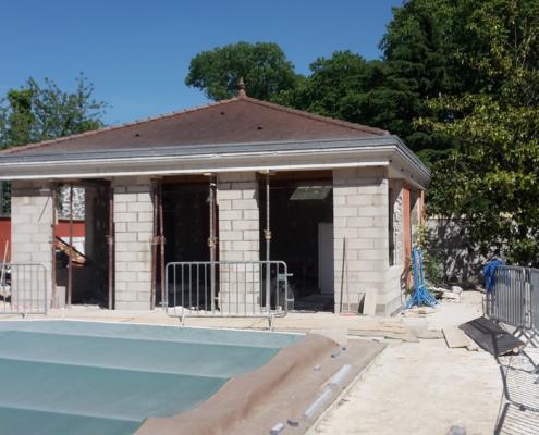 Réhabilitation d'une pool house à Verrières-le-Buisson (91)