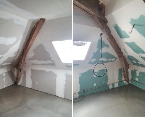 Aménagement de combles par AIT Bâtiment à Soisy-sur-Seine
