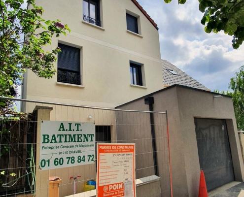 Construction par AIT Bâtiment d'un pavillon à Vitry-sur-Seine (94)