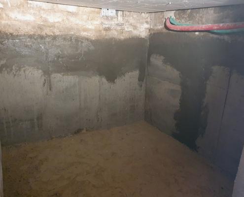 Reprise en sous œuvre pour la création d'une cave